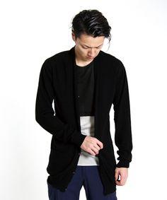 Kazuyuki Kumagai Attachment – Cotton Knit Cardigan