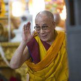His Holiness the Dalai Lama is an inspiring man.