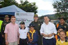 Policia nacional lanza el sistema integrado de seguridad rural en risaralda