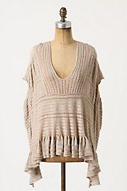 Like the flow-y look of this  Anthropologie