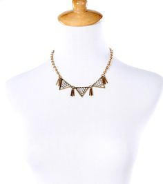 2015  Geometric Triangle Choker Necklace Statement Necklace Factory supply  free shipping  Min $20(can mix)-in Torques from Jewelry on Aliexpress.com | Alibaba Group