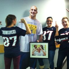 We at One Mission are some of Gronks biggest fans! #GronkNation #GoPats