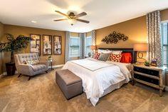 New Homes in Austin, TX - Retreat at Tech Ridge E 2898 Master Bedroom