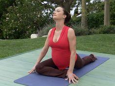 Top Five Prenatal Yoga Poses!  #prenatal #pregnancy #yoga #healthy #safe