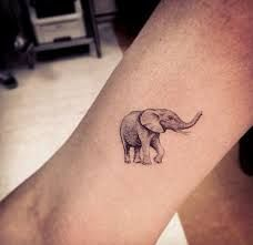 Image result for simple elephant tattoo