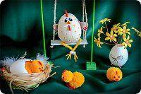 Онлайн-курс Пасхальные посиделки Nordic Style, Paper Quilling, Easter, Christmas Ornaments, Holiday Decor, Mini, Crafts, Home Decor, 3d