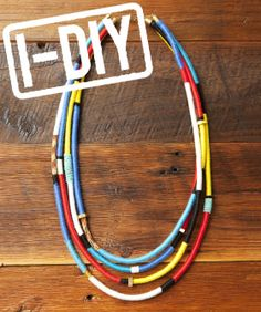 Weekend Project: DIY Rope Necklace