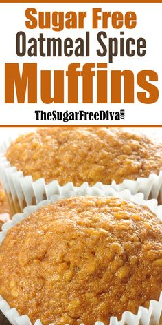 Sugar Free Oatmeal, Sugar Free Muffins, Sugar Free Breakfast, Sugar Free Cookies, Breakfast Dessert, Sugar Free Chocolate, Breakfast Ideas, Cookies Kids, Chocolate Pudding