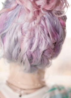 pink dreadlocks...one day, I'll be brave enough & commit
