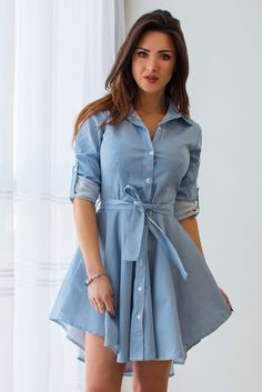 Dresses Fun Diy Crafts fun diy crafts for toddlers Beauty And Fashion, Fashion Wear, Denim Fashion, Look Fashion, Fashion Dresses, Stylish Dresses For Girls, Cute Dresses, Cute Casual Outfits, Stylish Outfits