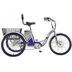 Currie eZip Tri-Ride Electric Tricycle