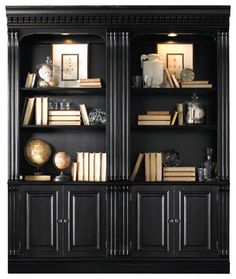 Telluride Bunching Bookcase with Doors - traditional - Bookcases - Masins Furniture