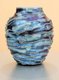 "Luster Vessel 1171 (5-1/2"") by Paul J. Katrich."