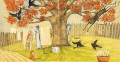 """Valentina Morea illustration for """"Gli amori di gatta Cecilia""""."""