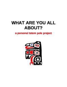 This activity correlates with any study of U. Native Americans, especially those of the Pacific Northwest. There is not only a Native American c. Aboriginal Education, Art Education, Teaching Social Studies, Teaching Art, Sculpture Projects, Art Projects, 8th Grade Art, Native American Art, Art Plastique