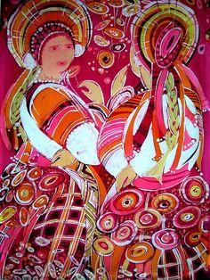КРАСОТЕНЬ: БАТИК.Чагорова Татьяна Геннадьевна. Пенза Ukrainian Art, Painted Silk, Hand Painted, Silk Painting, Children Books, Illustration, Blog, Children's Books, Children Story Book