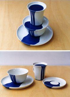 Artist: Gustaf Nordenskiöld  I love the concept!!! A great idea when I make multiples.