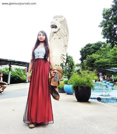 A Scarlet Letter – first outfit post from Singapore and Skyride Luge Experience
