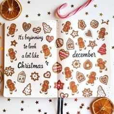25+ Christmas Bullet Journal Ideas For December 2020