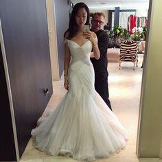 Sheath Wedding Dress : Instagram photo by Sarah   Feb 3 2015 at 2:43am UTC