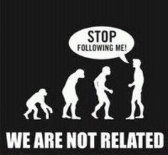 True! We came from God, not monkeys.