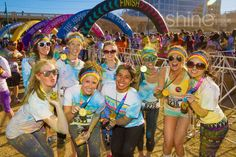 Race and celebrate a run well done at the annual Color Run held in Tulsa, Oklahoma. Stretch while the energetic background music pumps you up, and finish this fun 5K decked out in a rainbow of powdered colors.