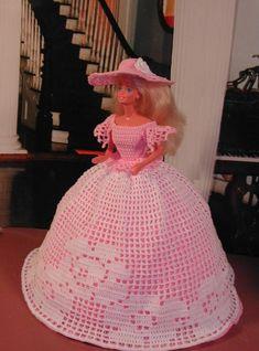 Crochet Fashion Doll Barbie Pattern 147 OLD by JudysDollPatterns