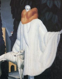 Jean Dupas, Woman with Stole, 1929