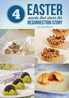 95.1 SHINE-FM - 4 Easter Snacks That Share the Gospel // Resurrection Rolls (Empty Tomb rolls), Resurrection Cookies (Empty Tomb Cookies), Empty Tomb Treat, Crown of Thorns Snack