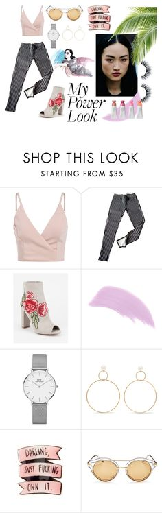 """Power Look"" by sweet-nothings-and-stuff ❤ liked on Polyvore featuring Ralph Lauren, Wild Diva, Ellis Faas, Daniel Wellington, Natasha Schweitzer and Sonix"