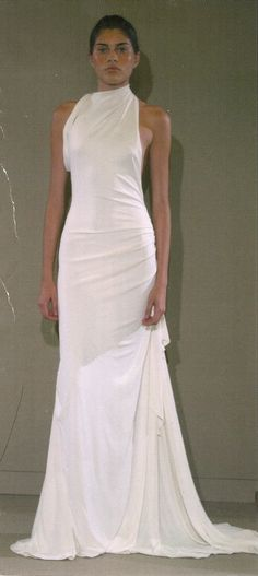 Vera Wang 2004 - I used to work for a wedding magazine in college (over 8 years ago). Seen thousands of dresses, but I kept this photo.