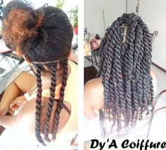 """Hair Queens naturalhairqueens: """" This is all her natural hair. When your creator gives you the thickness of Havana twists! """"naturalhairqueens: """" This is all her natural hair. When your creator gives you the thickness of Havana twists! Vida Natural, Pelo Natural, Natural Hair Tips, Natural Hair Journey, Natural Hair Styles, Havanna Twist, Coiffure Hair, Twisted Hair, Natural Hair Inspiration"""