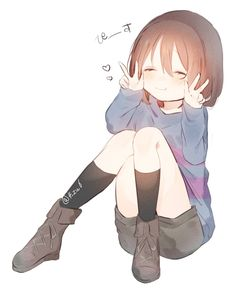 Anime Undertale, Undertale Drawings, Undertale Cute, Frisk, Inuyasha, Sans Anime, Different Drawing Styles, The Ancient Magus Bride, Undertale Pictures