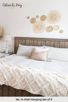 Room Design, Gorgeous Bedrooms, Bedroom Interior, Room Decor, Bedroom Wall, Baskets On Wall, Bedroom Layouts, Girl Bedroom Decor, Living Room Designs