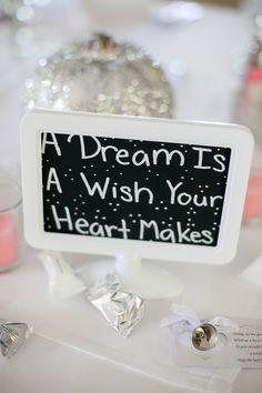 Blaze and Amanda's Romantic Disney Wedding // Michelle Lacson Photography Princess Bridal Showers, Disney Bridal Showers, Cinderella Theme, Disney Theme, Bridal Shower Decorations, Wedding Decorations, Wedding Ideas, Brittany, Shower Ideas