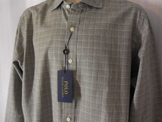 POLO RALPH LAUREN Shirt size Large green plaid NEW NWT #PoloRalphLauren