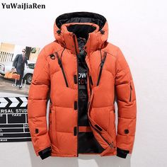 7efa072916e Cheap Price 2018 High Quality White Duck Thick Down Jacket men coat Snow parkas  male Warm Brand Clothing winter Down Jacket Outerwear