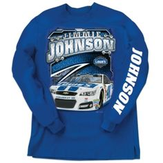 Jimmie Johnson Long Sleeve Tee | Raceline Direct