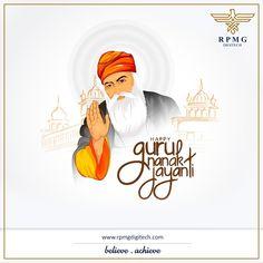 May the blessings of Guru Nanak Dev ji be with you in all your endeavours.  #GuruNanakJayanti #Gurupurab #RPMGdigitech