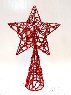 estrella roja para punta de árbol #Navidad #Decoracion #Regalo #Deconline