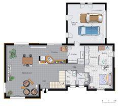 Découvrez les plans de cette maison à énergie positive 2 sur www.construiresamaison.com >>>
