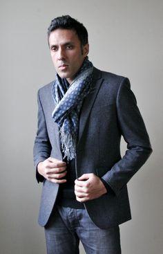 men scarfs | Men's Scarves, Mufflers – fashion for winter 2012-2013 - Latest ...