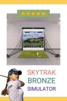 Learn Why You Must Experience Golf with SkyTrak Bronze Simulator Package At Least Once In Your Lifetime. SkyTrak is an ambitious firm that entered the launch monitors market back in 2014. Now, it is one among the elite members club of producing professional-grade golf launch monitors at an affordable budget. Read more about SkyTrak Bronze Simulator Package here #golf #golfing #golflife #golfer #golfswing #golfcourse #golfaddict #golfers #golfislife #golfstyle #golflifestyle #golf⛳️ #golfing⛳️ Home Golf Simulator, Golf Simulators, Golf Fashion, You Must, Budgeting, Golf Courses, Product Launch, Bronze, Packaging