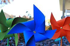Super Easy and Adorable Pinwheel Party Decor!