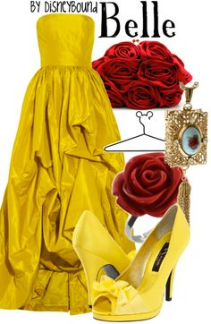 You know, even though I never wear yellow, I'd definitely wear this just to get to feel like Belle for a day.