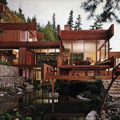 The Graham House by Arthur Erickson.