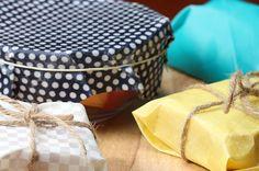 Aprenda a fazer estas embalagens usando cera de abelha