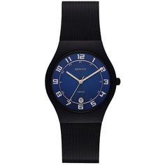 Schwarze Uhr im Sportlook ab 159,00€ ♥ Hier kaufen: http://stylefru.it/s199554 #uhr #bering