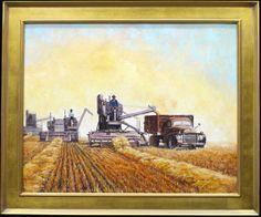 Harvesting Harvest, German, Painting, Art, Deutsch, Art Background, German Language, Painting Art, Paintings