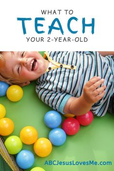 Free Preschool Curriculum for your 2-year-old child.    #Preschool Curriculum #Learning Through Play #ABCJesusLovesMe